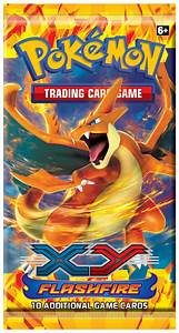 Pokemon XY Flashfire Booster Pack - Pokemon Sealed ...