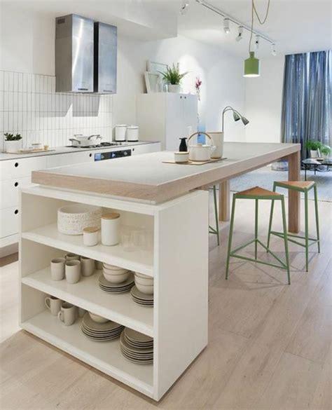 cuisine blanche et bleue la cuisine blanche et bois en 102 photos inspirantes