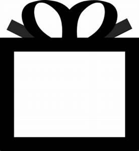 Birthday Present Clipart Black And White | Clipart Panda ...