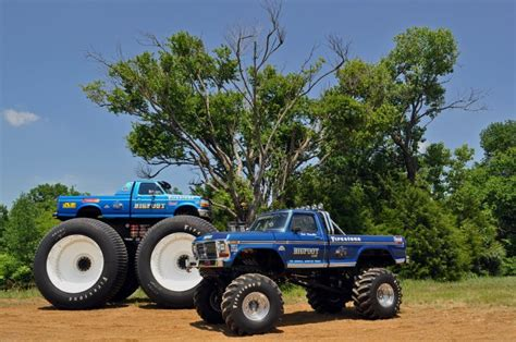 bigfoot 1 monster truck bigfoot 1 monster truck restoration complete
