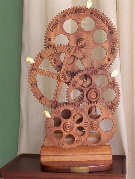 25 unique wooden clock plans diy wooden gear clock from tom s work bench design de