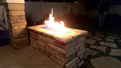 gas pit images natural gas fire pit youtube
