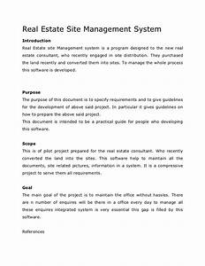 Academic project real estate site management system synopsis