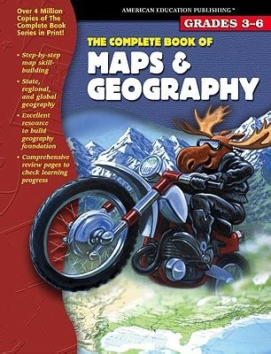 complete book  maps geography grades    american education publishing
