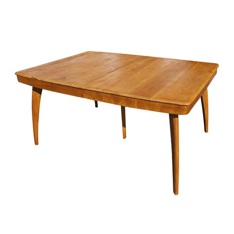 Heywood Wakefield Dining Set Value by Midcentury Retro Style Modern Architectural Vintage