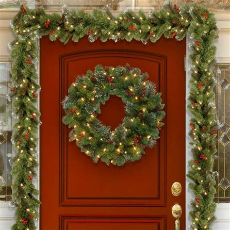 christmas wreaths  christmas garlands youll love wayfair