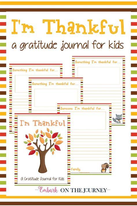 im thankful  gratitude journal  kids kids journal gratitude journal thanksgiving kids