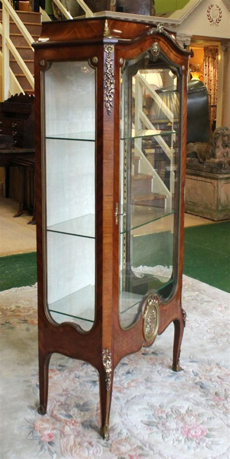 Antiques Atlas  French Rosewood Vitrine Display Cabinet