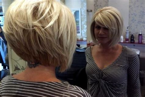 Best 25+ Longer Stacked Bob Ideas On Pinterest