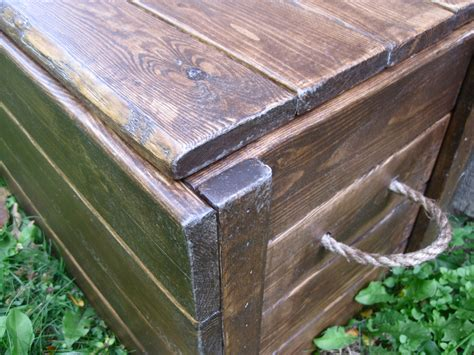 woodwork wood storage box plans  plans