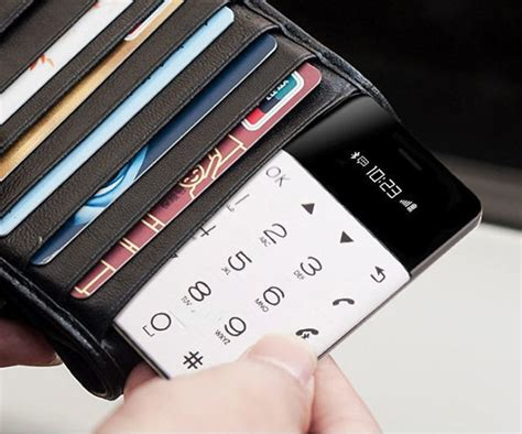 Maybe you would like to learn more about one of these? Minimalistic Credit Card Sized Phone