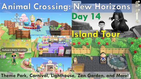 animal crossing  horizons island  theme park