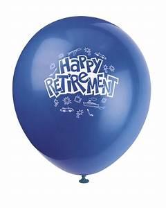 Happy Retirement Balloons - Bartz's Party Stores
