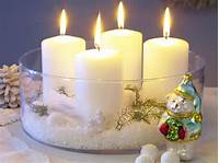 decorating with candles 30 Christmas Candle Decoration Ideas for 2011