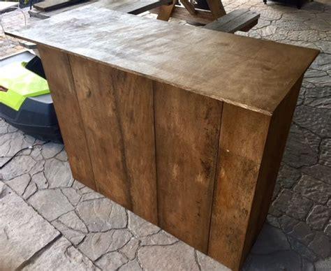diy folding craft fair checkout stand craft fair table