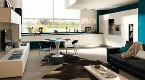 cuisine ouverte sur salon une solution pour tous les espaces With amenagement salon cuisine ouverte