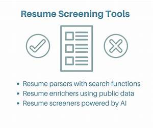 automated resume screening resume ideas With resume screening software free download
