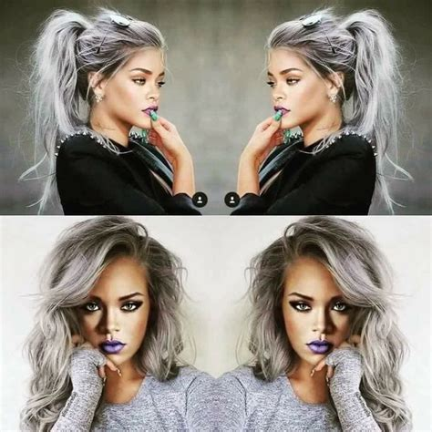 Perfect Hair Color Platinum Dark Roots Black Roots White