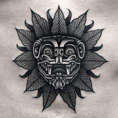 quetzalcoatl face quetzalcoatl culture tatuaje