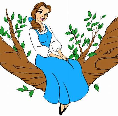 Belle Disney Princess Clipart Background Club Walt