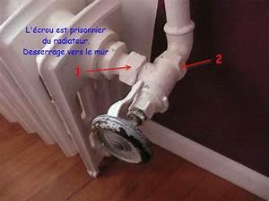 Vanne Thermostatique Pour Radiateur Fonte : robinet radiateur en fonte cl molette forum chauffage ~ Premium-room.com Idées de Décoration