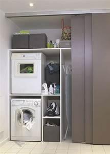 Meuble De Rangement Buanderie : d co salle de bain buanderie ~ Teatrodelosmanantiales.com Idées de Décoration