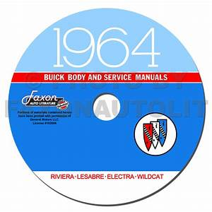 1964 Buick Repair Shop Manual Reprint Lesabre Wildcat