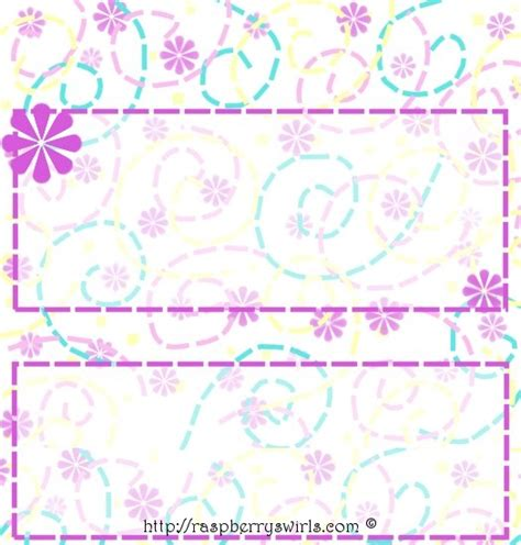 printable  candy bar wrapper template designs