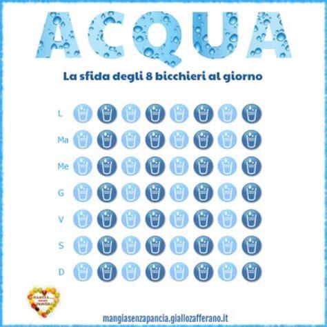 Due Litri Di Acqua Quanti Bicchieri Sono by Schema Dei Pasti Per La Dieta Mangia Senza Pancia