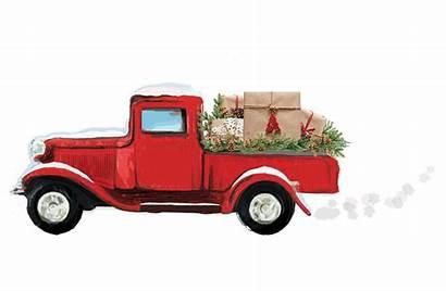 Box Surprise Decor Truck Steals Christmas Birthday