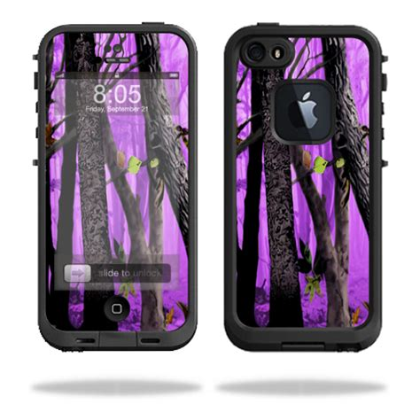 purple lifeproof iphone 5s skin decal wrap for lifeproof iphone 5 5s fre