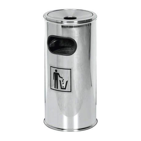 poubelle de cuisine à pédale metro fr poubelle cendrier d 39 extérieur saro inox