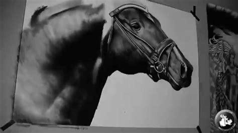 realistic drawing  horse gfkstudio youtube