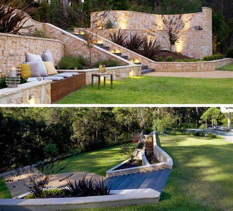 Terrasse Am Hang Praktisch Und Modern Gestalten