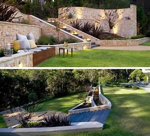 Garten Leichte Hanglage : terrasse am hang praktisch und modern gestalten 10 tolle ~ Whattoseeinmadrid.com Haus und Dekorationen