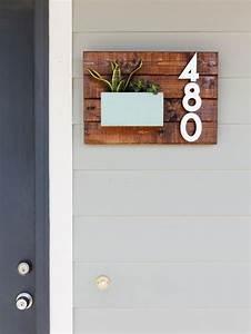Numéro Maison Design : les 25 meilleures id es de la cat gorie num ros de maison ~ Premium-room.com Idées de Décoration