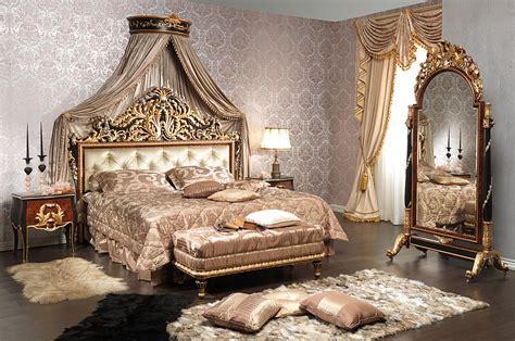 camera da letto classica emperador black  legno