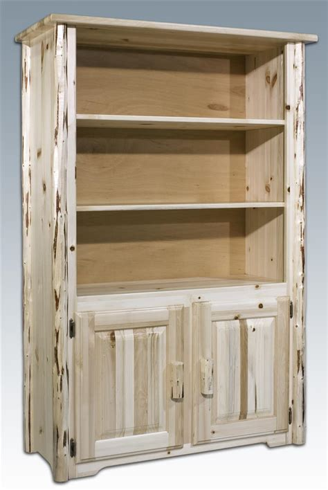 Unfinished Bookcase by Montana Woodworks Bookcase Unfinished 140556 Living