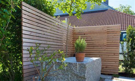 Sichtschutz Garten Doppelhaus by Trennwand Terrasse Doppelhaus Wohn Design