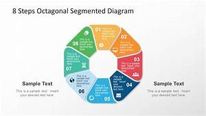 8 Steps Octagonal Powerpoint Diagram