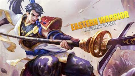 Yun Zhao Eastern Warrior Skin Closer Look! (mobile Legends