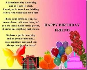 birthday best friend quotes   happy birthday quotes for ...