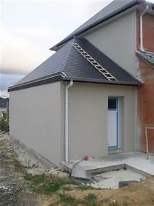 La Maison Du Blanc : enduit ext rieur le blog de la construction de florian ~ Zukunftsfamilie.com Idées de Décoration