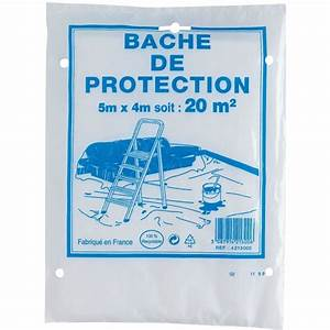 Bache De Protection Transparente : b che de protection outibat cazabox ~ Dailycaller-alerts.com Idées de Décoration
