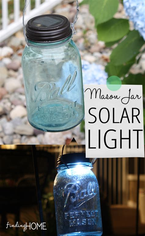 diy jar solar light finding home farms