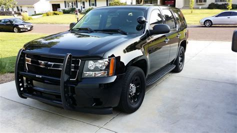 chevy tahoe police pursuit vehicle  suv site