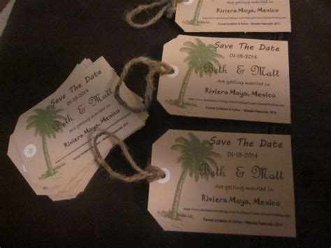 diy luggage tag save the date with template