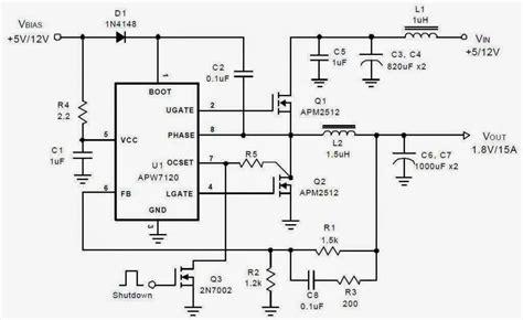 Asus Pql Motherboard North Bridge Power Supply Schematic