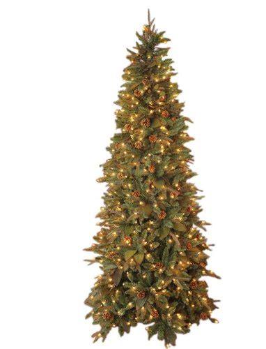 gki bethlehem lighting pre lit 7 1 2 foot pe pvc christmas