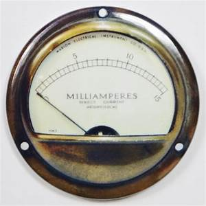 Marion Electric Steampunk Gauge FRIDGE MAGNET Meter